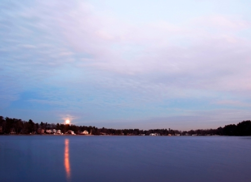 Nabnasset Lake Moonrise