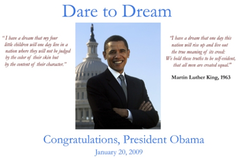 Poster created fr Mrs Winters 4th grade class. (Photo from US Senate web site, used with permission.)