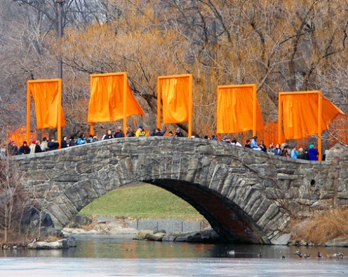 The Gates of Jeanne-Claude and Christo